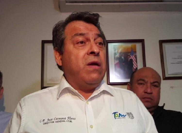 José Carmona Flores, Director General del Instituto Tamaulipeco del Migrante